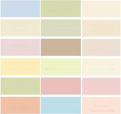 Цветовая гамма детской комнаты от рождения до 3 лет
