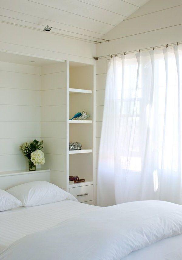 Длинные шторы в маленькую комнату