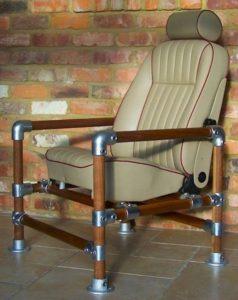 Кресло в индустриальном стиле