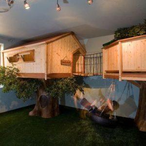 Двухъярусная детская комната