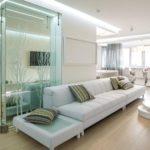 Дизайн интерьера в белом цвете