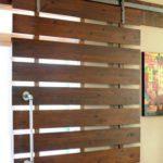 дерев'яні розсувні двері