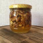 Мед разнотравье с грецким орехом 200 мл