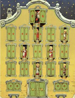 Мюнхенский рождественский календарь